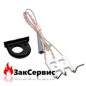 Электроды розжига и ионизации на газовый котел Ariston BS, EGIS (PLUS), CLAS, GENUS 65104549