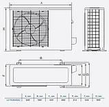 Кассетный кондиционер Lessar LS-H18BGA2/LU-H18UGA2, фото 5