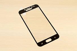 Защитное стекло Silk Screen для Samsung Galaxy J2 2018 j250 тех.пакет (Black)