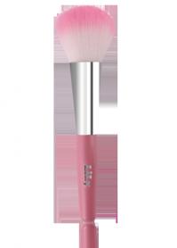 Кисть для пудры и румян (розовая) Lily B1205
