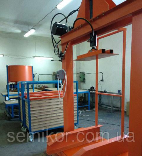 Оборудование для производства резиновой плитки к-т «MINI»