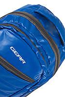 Рюкзак Городской Gear 802 голубой Турция, фото 3