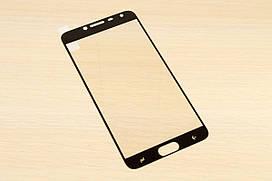 Защитное стекло Silk Screen для Samsung Galaxy J4 j400 2018 тех.пакет (Black)