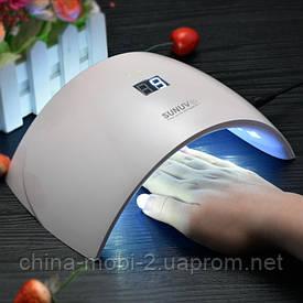 LED+UV Lamp Sun 9s 24w лампа для гелів і гель-лаків з таймером FD88-1