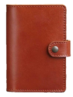 Обложка для паспорта 3.0 коньяк (кожа), фото 1