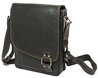 Винтажная мужская сумка из кожи GREENWOOD S836, 6 л