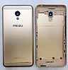 Задняя золотая крышка для Meizu M3s (Y685) | M3s Mini