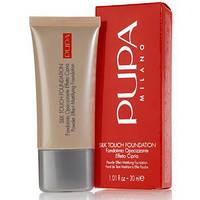 Тональный крем Pupa Silk Touch Foundation (комфорт, мягкость, увлажнение, защита)