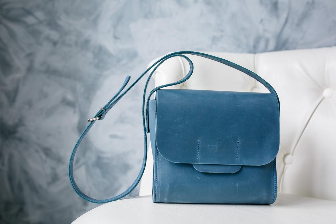 a058bbb4b5da Кожаная сумка NewBox, шкіряна сумка, кожа Крейзи Хорс, ручная работа,  натуральная кожа