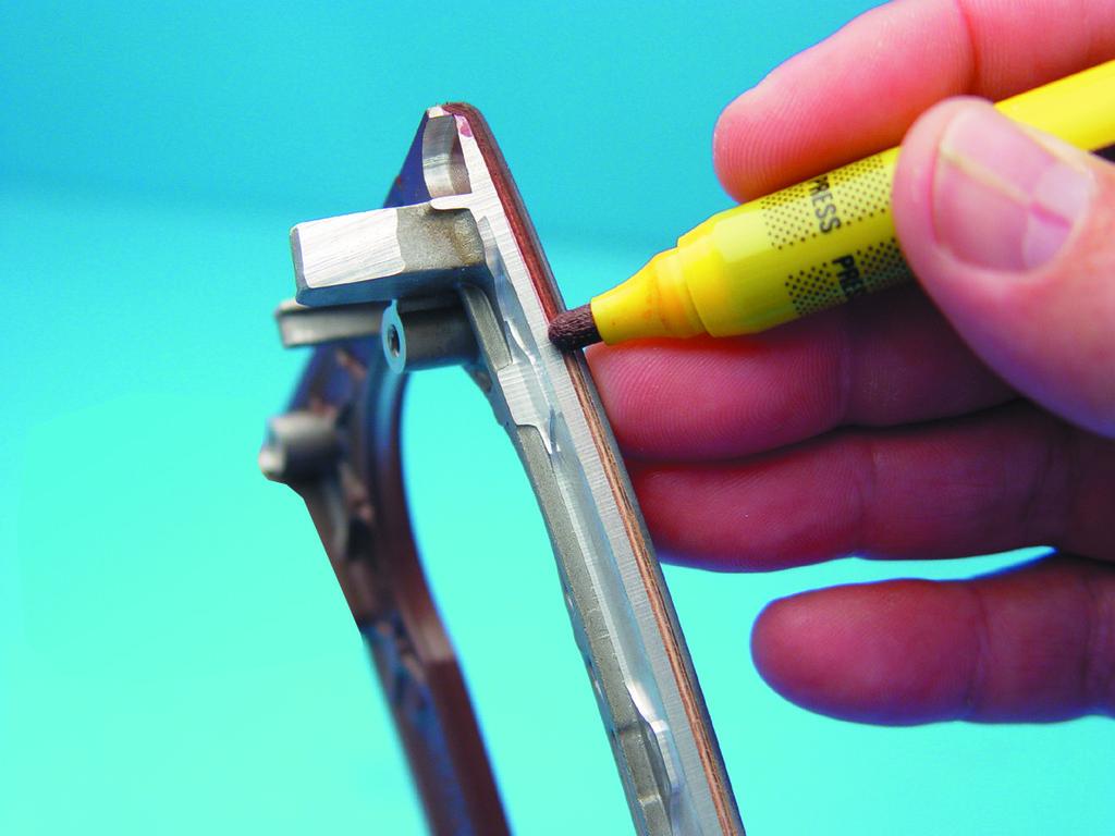 Фломастеры для ламинации окон ПВХ. Примеры применения 1