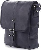 f65804b01d2b Коричневая мужская сумка в стильном дизайне из натуральной кожи синего  цвета SHVIGEL 11015
