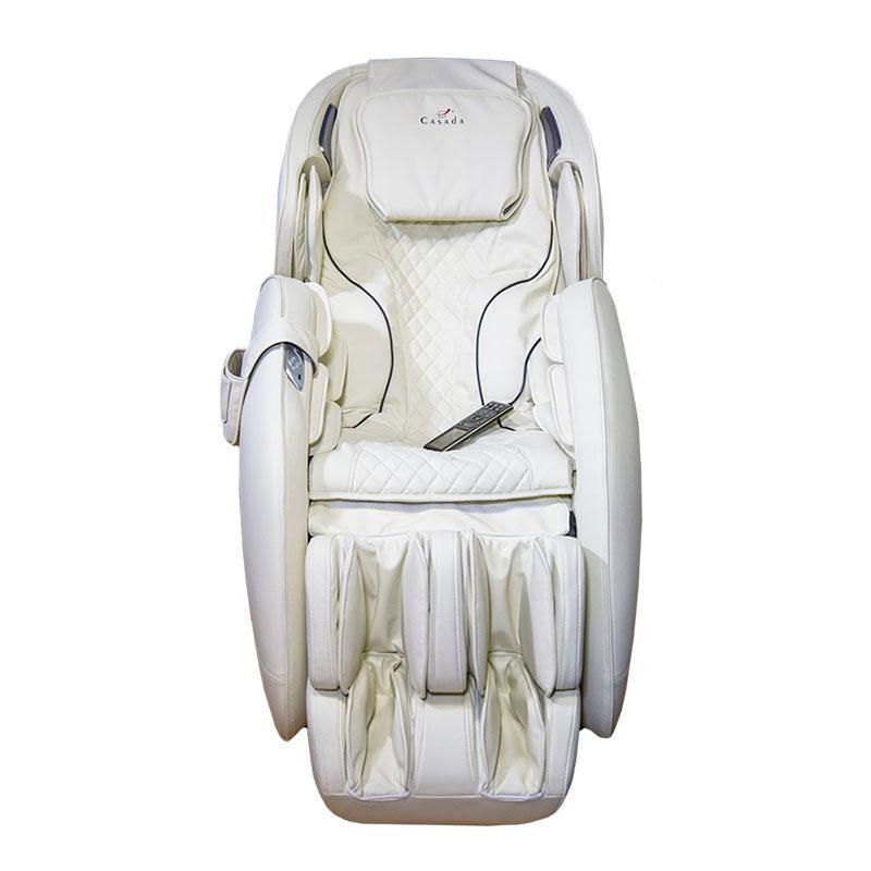 Массажное кресло Casada AlphaSonic II (Премиально белое)