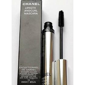 Туш Chanel Length and Curl Mascara Volume Intense (объем,удлиняющая) 8g  реплика