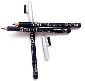Карандаш для бровей - Bourjois Sourcil precision Souligner-Line (цвет 01 black) реплика