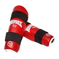 Защита голени Reyvel винил размер M красная
