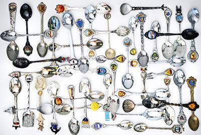 Коллекционные серебряные ложки из стерлингового серебра 925 пробы и 800, 830 пробы