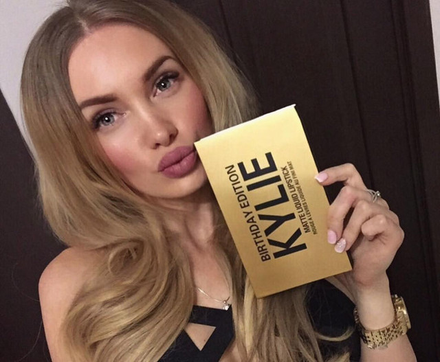 Жидкая матовая помада Kylie Birthday Edition (6 шт) реплика