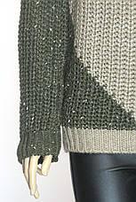 жіночий светр  грубої вязки , фото 3