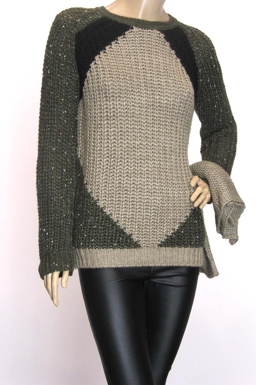 жіночий светр  грубої вязки