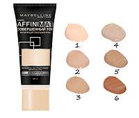 Тональный крем  Maybelline для лица с матирующим эффектом Affinimat  реплика