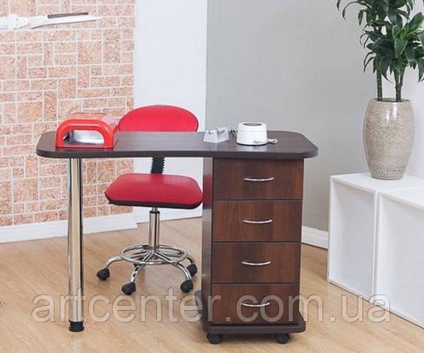 Маникюрный стол с  выдвижными ящиками