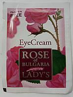 Пробник Крем для кожи вокруг глаз Болгарская роза БиоФреш