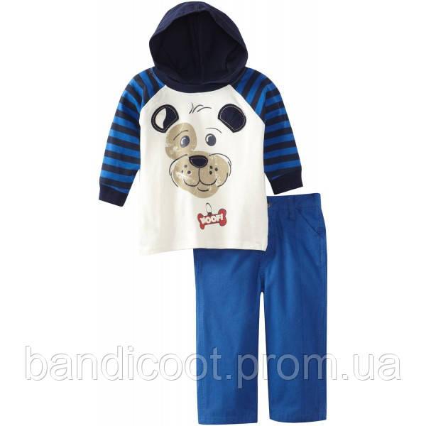 Набор одежды для мальчика, кофта, брюки.  ТМ  Little Rebels, размер 18 месяцев