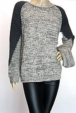 вязаний жіночий светр з хомутом Binka, фото 3