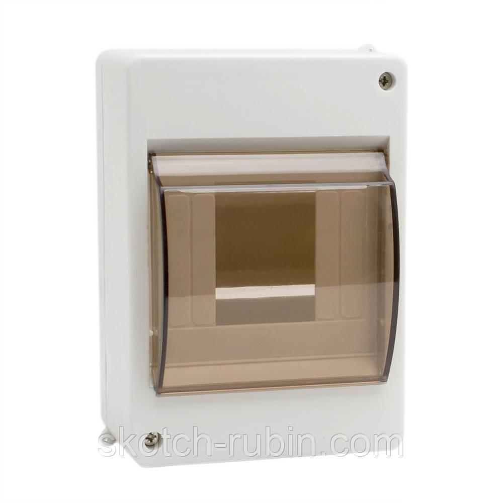Розподільна коробка для автоматів 3/4 скляна