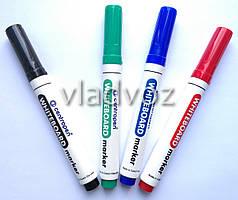Набор 4 маркера для белой доски флипчарта Чехия Centropen
