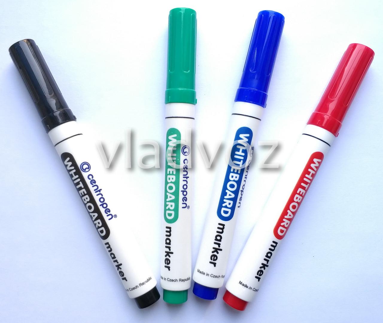 Набор 4 маркера для белой доски флипчарта Centropen