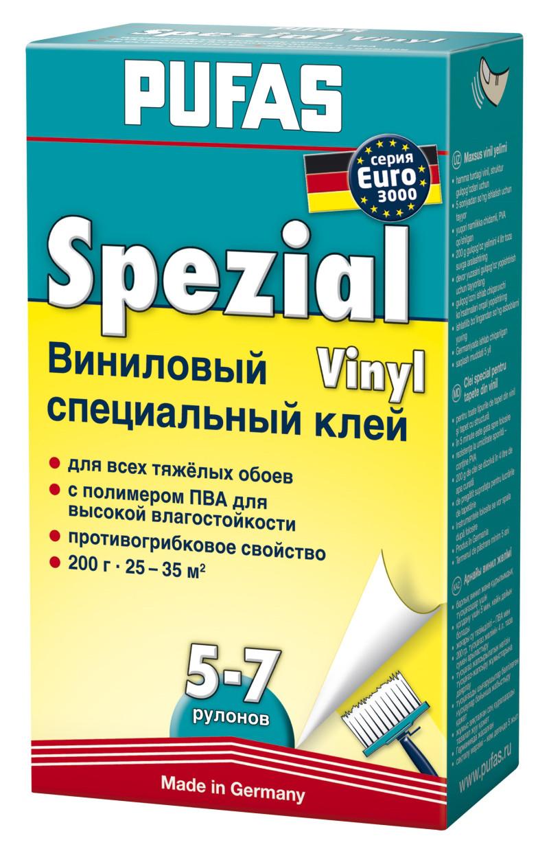 Клей для обоев Pufas Euro 3000 Vinyl 200гр