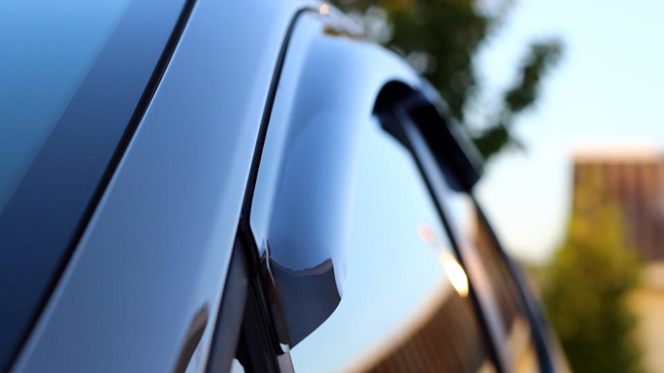 Дефлекторы окон ветровики на VOLKSWAGEN Фольксваген VW TIGUAN 2008-