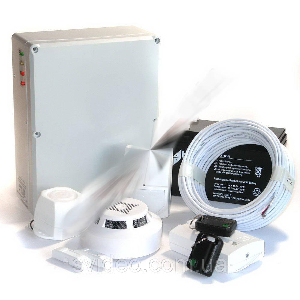 Комплект GSM сигнализации «Дом 2»