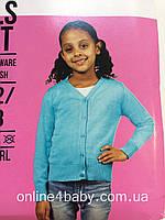 Кофта кардиган джемпер для школы Fashion girl на девочку 6-8 лет, рост 122-128