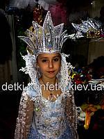 Корона для Снежной королевы прокат Киев