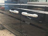 Mercedes Vito 639 Накладки на ручки (сталь, 3 шт), Carmos