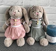 Мягкая игрушка Зайка в платье