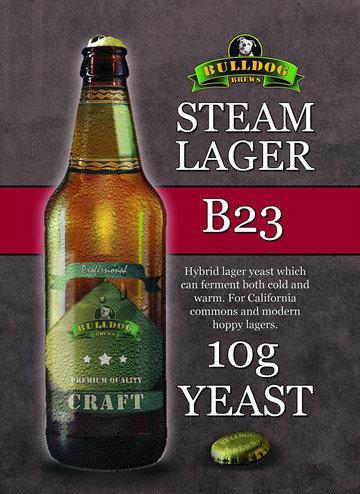 Пивные дрожжи Bulldog B23 Steam Lager