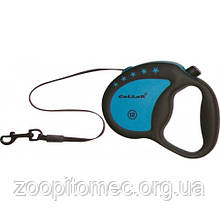 Рулетка Collar control 12 кг,4 м.ручка-комфорт, лента синяя