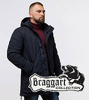 Куртка зимняя с температурным датчиком Braggart Status - 45777E черная