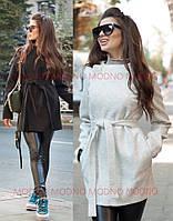 Женское пальто - пиджак из легкого кашемира, в расцветках