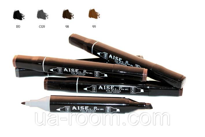 Подводка для глаз Aise Line Marker-Eyeliner, EM1088, фото 2