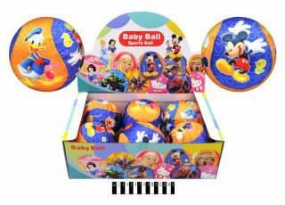 """Мяч обтянутый тканью с рисунком """"Микки Маус"""", диаметр 13см., V05017, фото 2"""