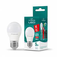 Лампа LED TITANUM G45 5W E27 4100K 220V