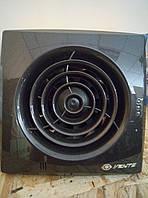 Вентилятор осевой Вентс 100 Квайт черный сапфир, вентилятор тихий, вентилятор бытовой.