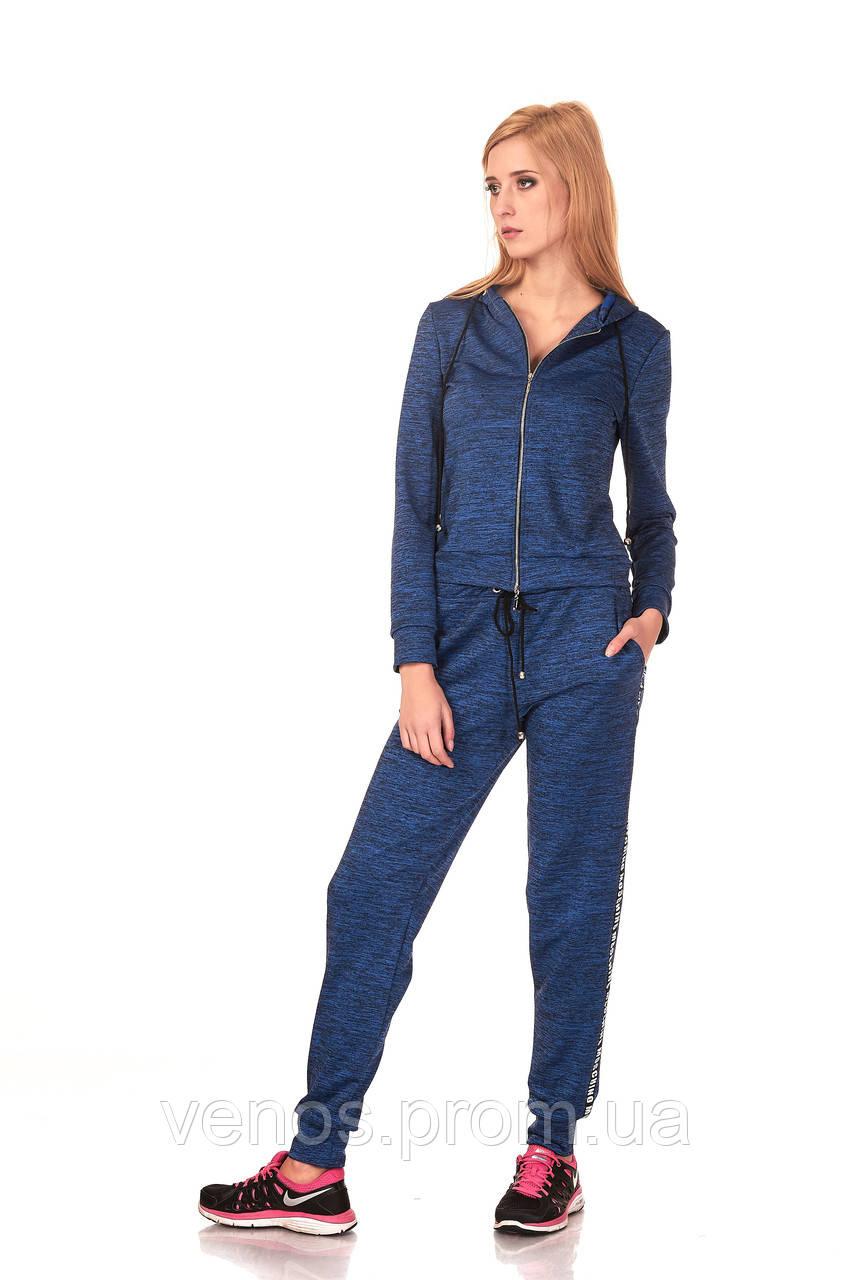 Спортивные женские брюки на манжетах. БР024