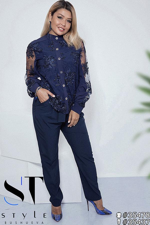 bcdaff97207 Шикарная нарядная блузка в стиле шик раз. 42-52  продажа