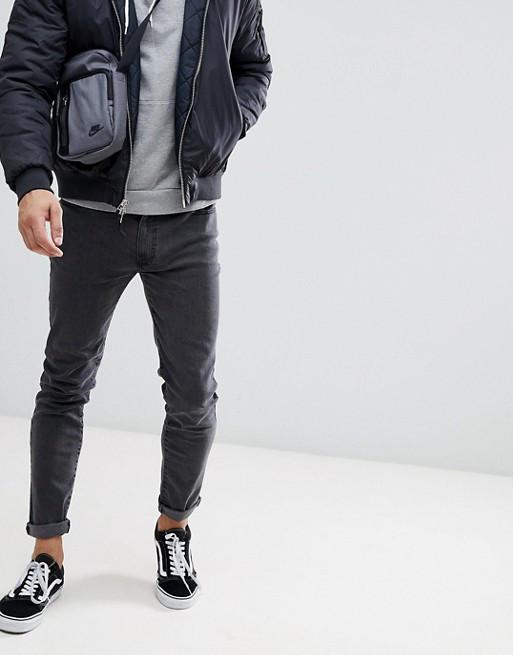 Джинси D-Struct - Gray Skinny Jeans PTH (мужские Узкие Серые Джинсы ... 3081f4e530657