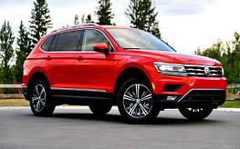 Диски и шины на Volkswagen Tiguan